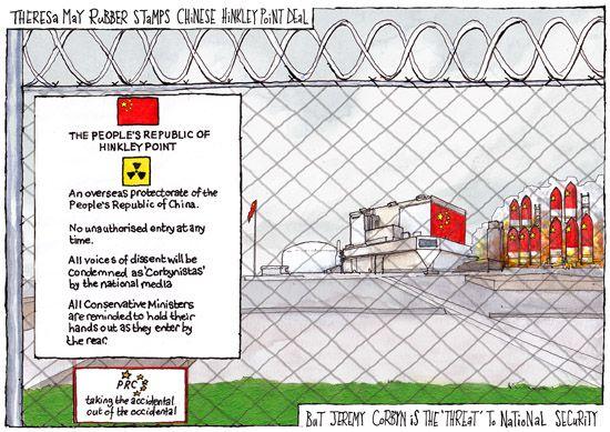 Hinkley Point Cartoon Uk Political Cartoonist Cartoons