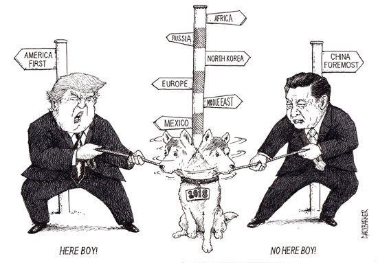most recent political cartoons