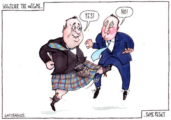 Alex Salmond David Cameron cartoon