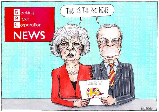 BBC May Farage cartoon