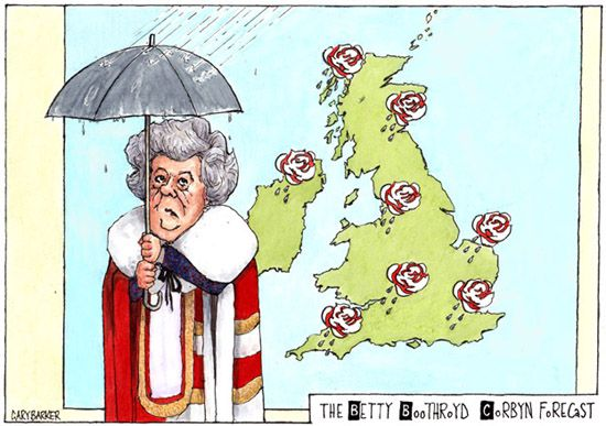 Betty Boothroyd cartoon