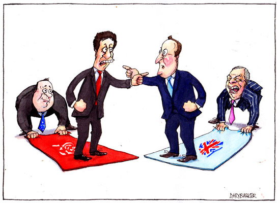 Ed Miliband David Cameron editorial