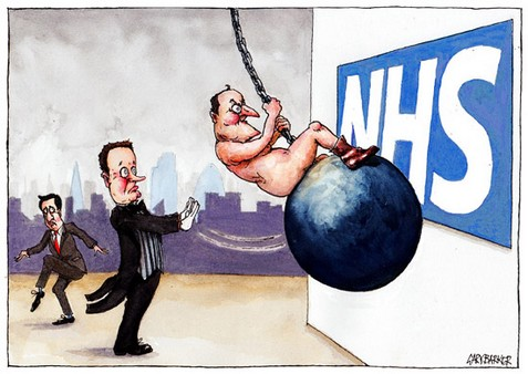 David Cameron wrecking ball