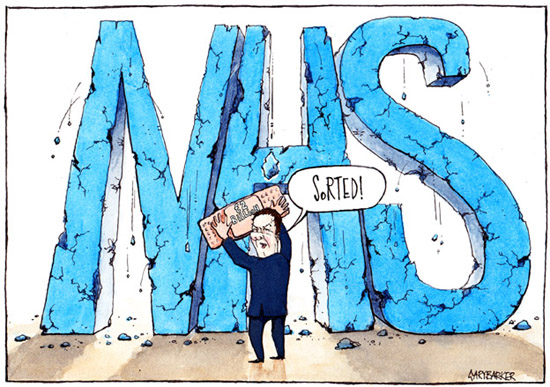 NHS cartoon