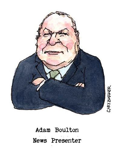 Adam Boulton caricature cartoon