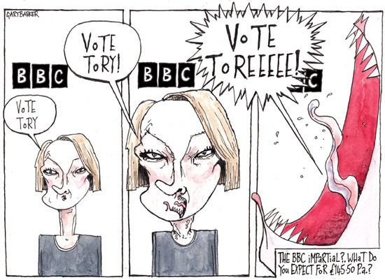BBC Laura Kuennsberg cartoon
