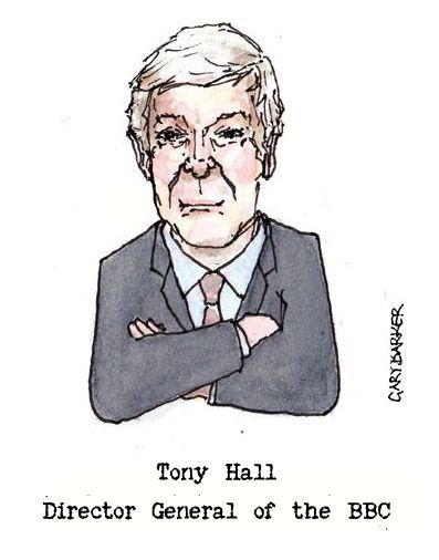 Tony Hall caricature cartoon