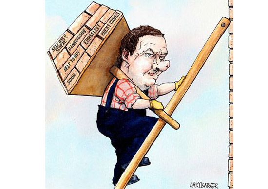 Property George Osborne caricature