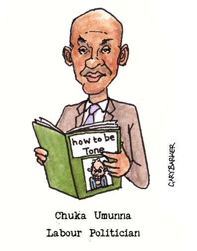 Chuka Umunna cartoon caricature