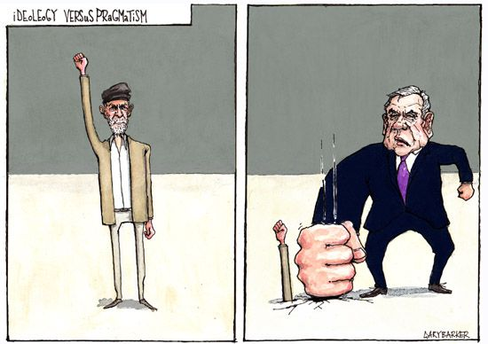 Gordon Brown Jeremy Corbyn cartoon