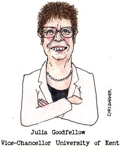 Julia Goodfellow caricature cartoon