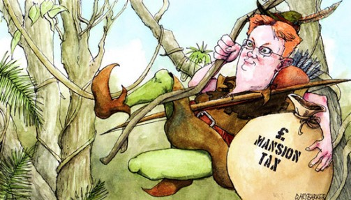 Treasury Minister Danny Alexander cartoon