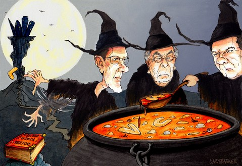 Economic witches editorial