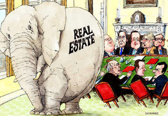 Real Estate Elephant property illustration