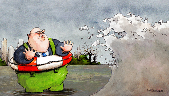 Eric Pickles UK floods editorial