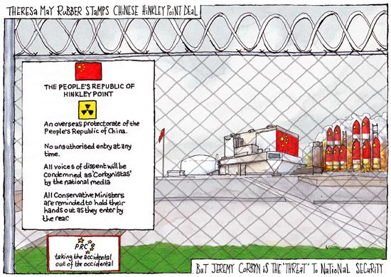 Hinkley Point cartoon