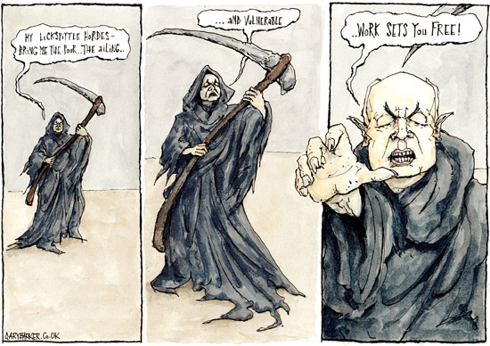Image result for iain duncan smith cartoons