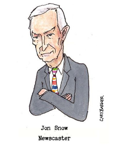 Jon Snow caricature cartoon