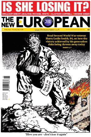 Peace Europe EU brexit cartoon