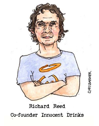 Richard Reed caricature cartoon