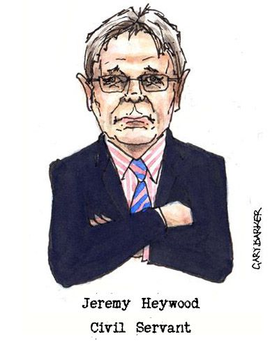 Jeremy Heywood caricature cartoon