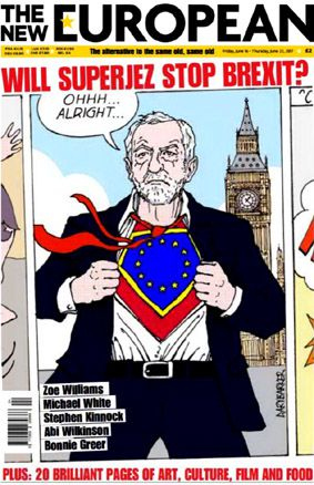 dessin Jeremy Corbyn cartoon