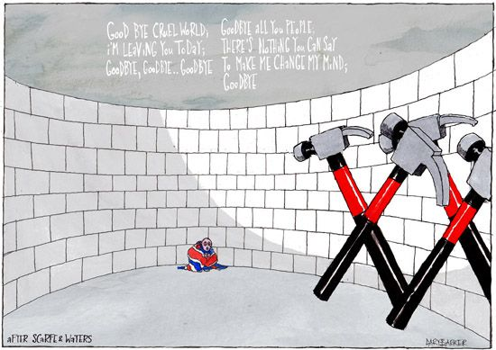 Wall EU referendum cartoon