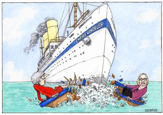 Windrush cartoon